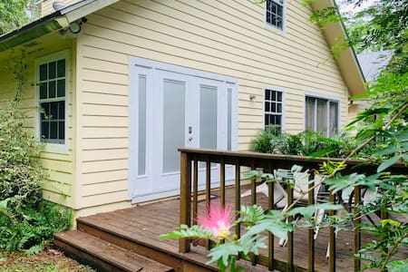 Double French door entrance.