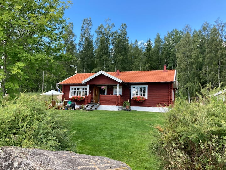 Swedish Country Dream - Red Timber House