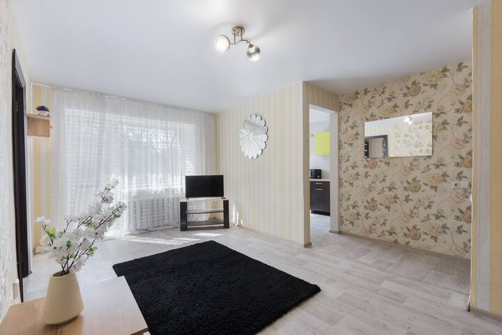 Центр города, комфортные апартаменты для 4х