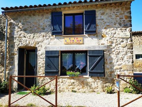 """Au Village""gîte in the heart of Rennes le Château"