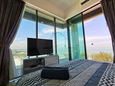 PD D'Wharf Residence Studio -Stunning 270° Seaview