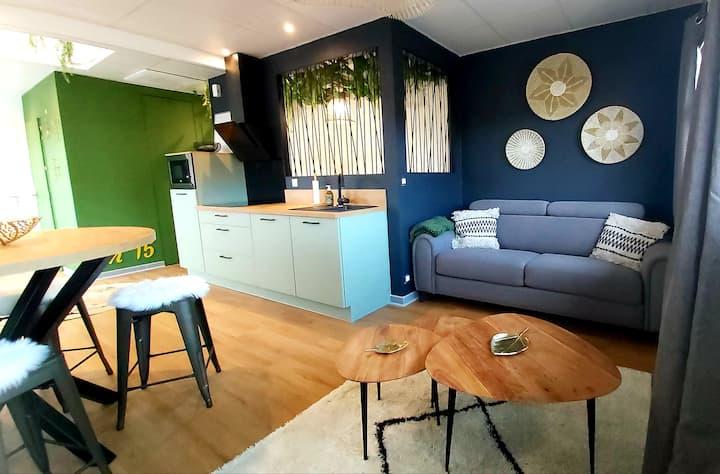 Le Quinze, appartement vegétal...