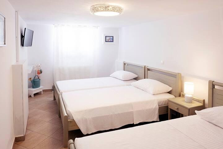3RD BEDROOM (SEMI -BASEMENT)