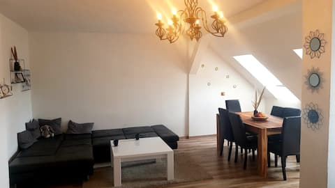 Penthouse apartment in historical monument