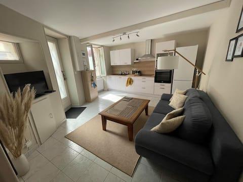 Maisonnette de 43 m² :  1 chambre