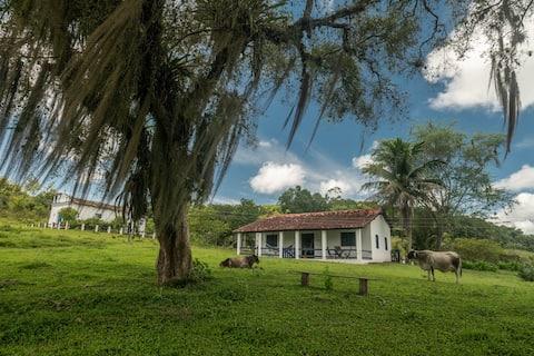Linda casa na sede da Fazenda Almada, Ilhéus/Bahia