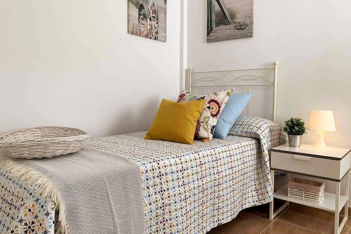 Habitación con Cama Nido (2 camas de  90x1,90).