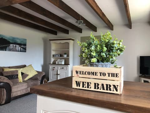 """The Wee Barn. In the heart of the countryside"""