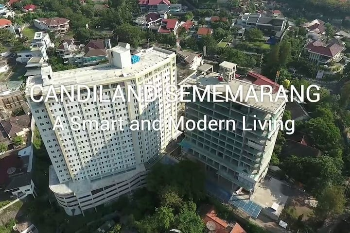 Sewa Apartemen Nyaman & Murah Tengah Kota Semarang