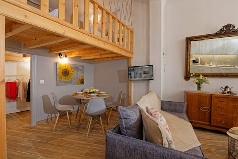 Fousekis Home, a brand new loft in Gouves village