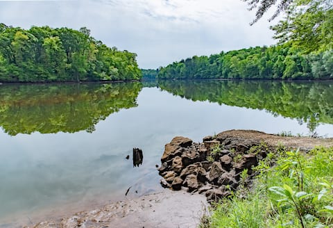 15 Acre Property on Chattahoochee River