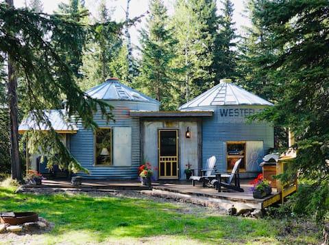 Romantic Retreat  in Tin Bins Cabin