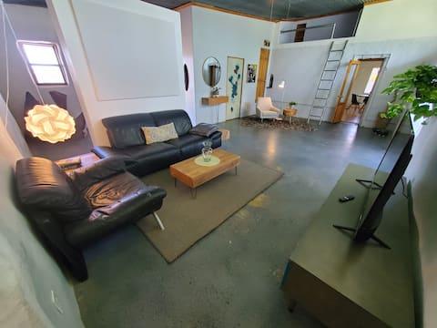 Adobe/Strawbale Cottage at La Union