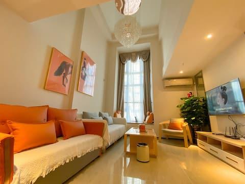海花岛2号岛澜湾悦享高层精装Loft大复式度假公寓 B套