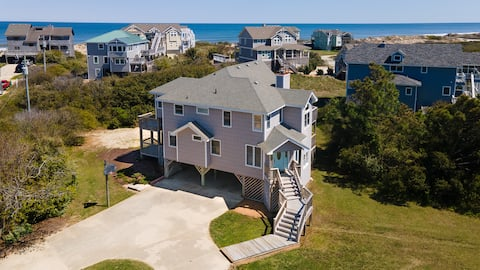 The Salty Fox | 5-BR with Ocean Views in Corolla