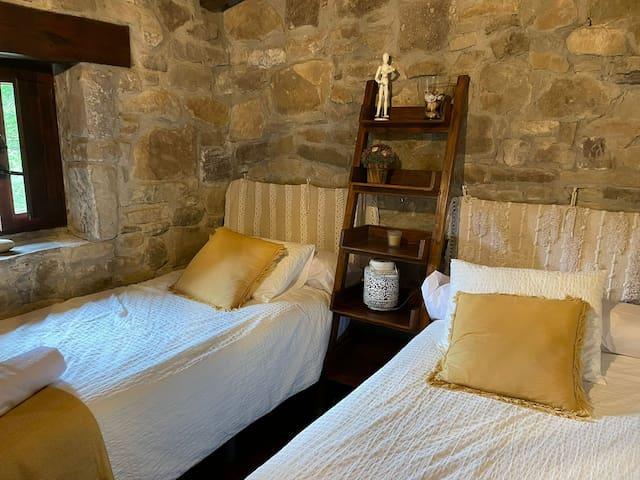 Dormitorio nº 2 con 2 camas individuales
