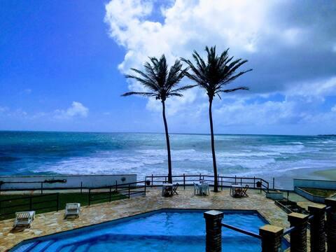 Lindo apartamento em frente a praia da caponga Ce