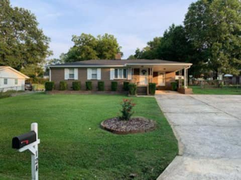 Classic updated home with fenced yard