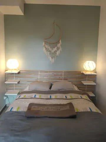 Chambre avec matelas exceptionnel