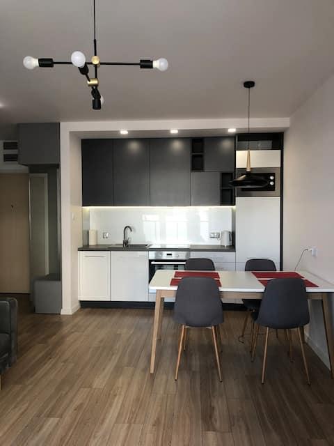 Nowy apartament w okolicach centrum