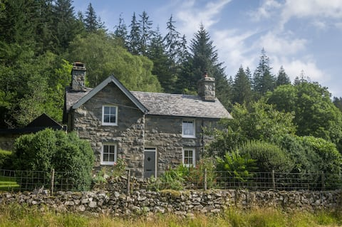 Retreat in Coed Y Brenin forest with private river