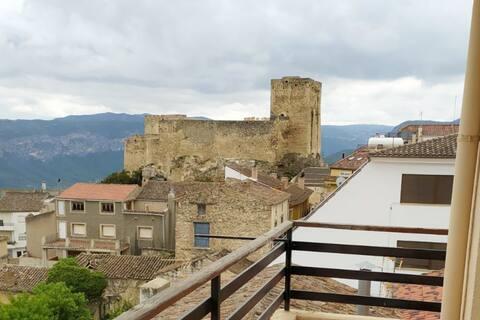 Desconecta en Yeste con vistas a su Castillo