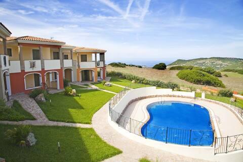 Appartamento in residence con piscina. Favoloso.
