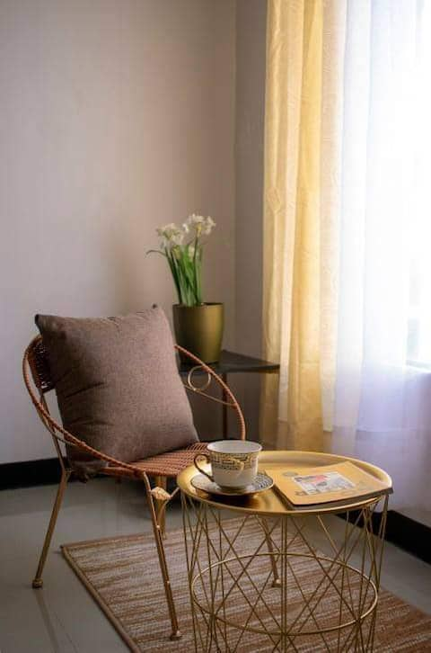 The Cozy Studio is elegantly designed for you!