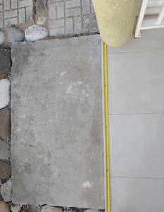 """47"""" clearance for patio entry"""