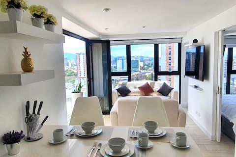 Suite de lujo, terraza privada en QUO