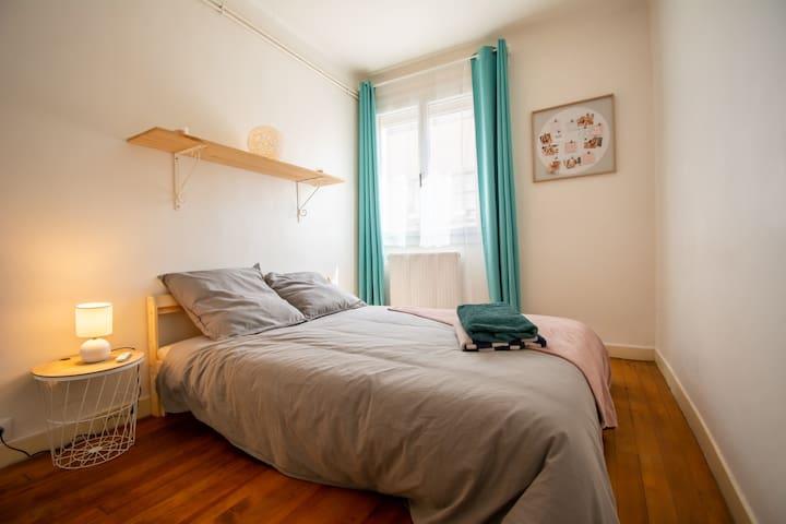 Une belle chambre cosy pour des nuits reposantes