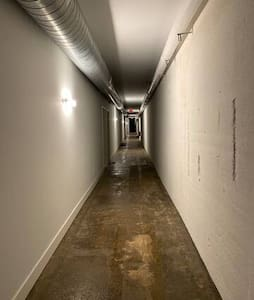 Ingång utan nivåskillnader till rummet