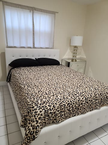 Master bed with bathroom