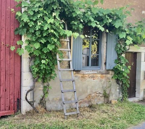 Lief huisje vlakbij Argenton en St-Benoît-du-Sault
