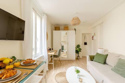 Beautiful studio near Paris-RER-boisVincennes-Disney