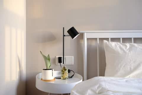 [Chestnut's Home~栗子家][栗芽]/万达公寓/简约/温度/智能电视/舒适大床/