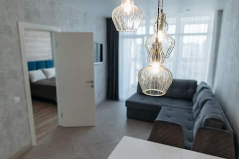 NEW! CLEAN 2-room comfort apartment near DANA MALL