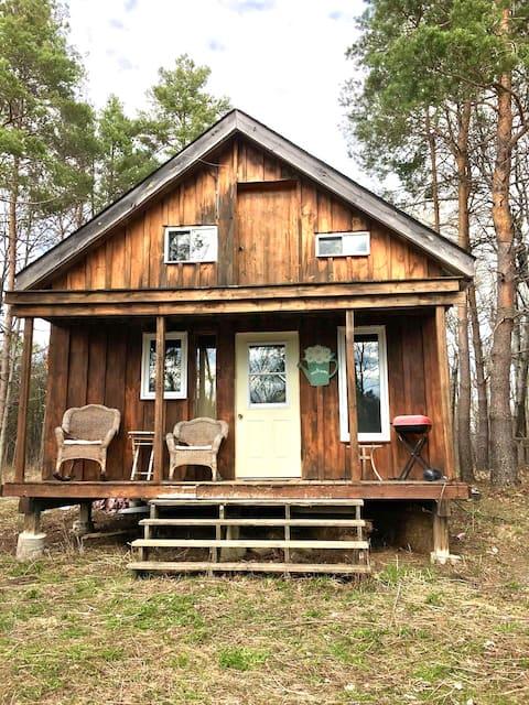 Glamping Cabin at Balderson Blueberries