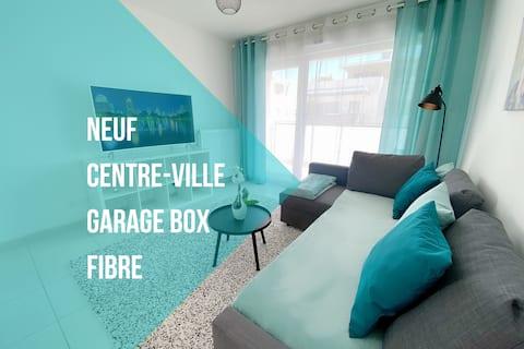 🏙  Blue Sky Appt Neuf à St. Julien Ge, Box-FIBRE
