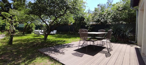 Villa Sophie, 110 m², 3 chambres, grand jardin