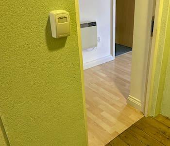 Apartment front door