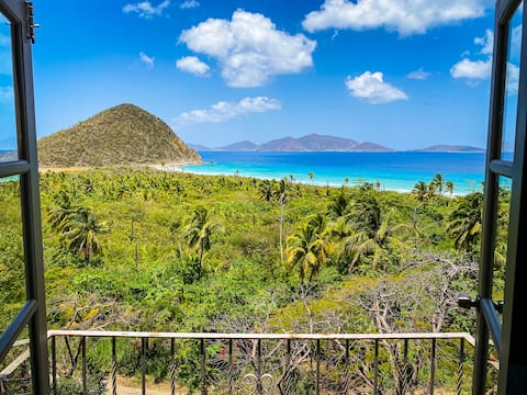 Stunning panoramic views from the BVI