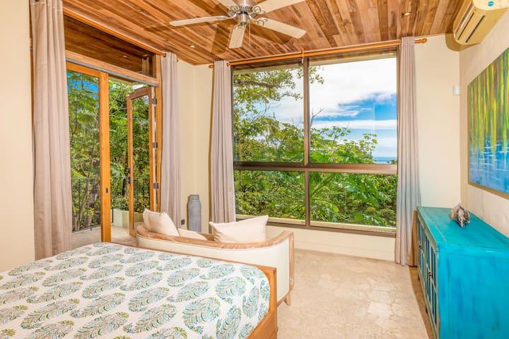 Ocean View Suite (Bedroom #3) Ocean views with walkout balcony