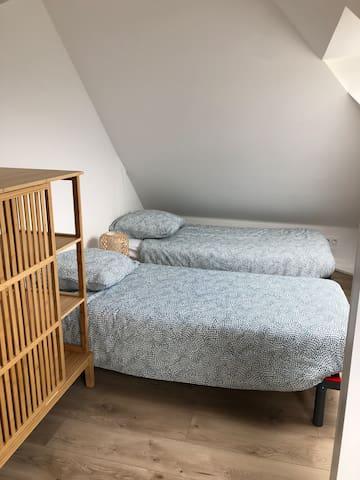 dortoir de l'étage