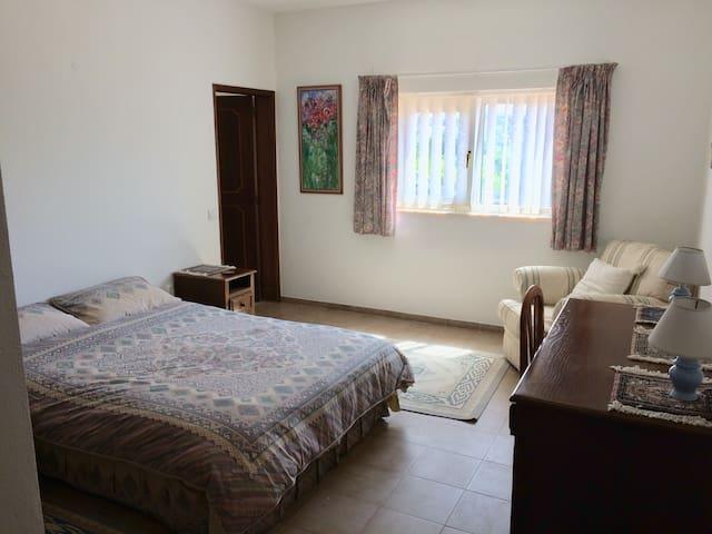Bedroom - Double bed with en suite