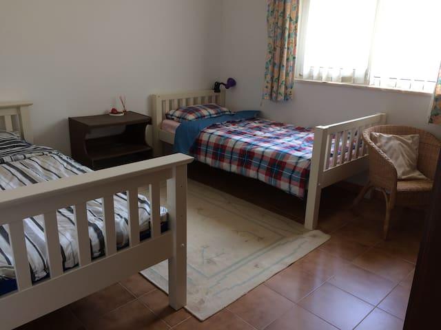 Bedroom 3 - Twin single beds