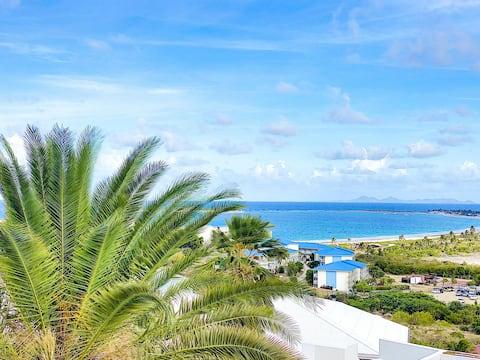 Casa Dina, belle vue mer à 10' à pied de la plage