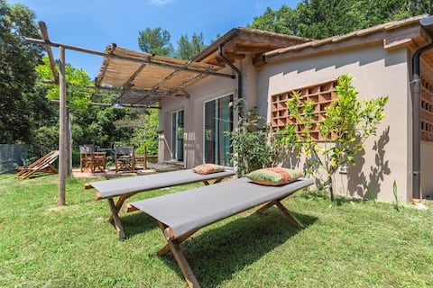 In touch with nature, molino,cottage with terrace