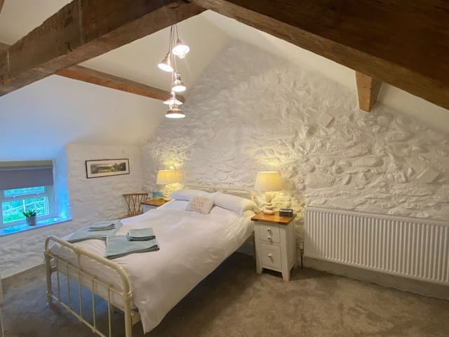 The Master-bedroom has a double bed