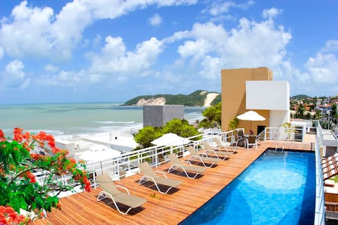 Flat Vip Praia Hotel 309 Sea View Ponta Negra